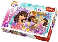 Puzzle 60 Trefl 17296 Dora i Przyjaciele - Taniec i Muzyka
