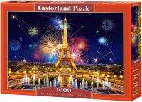 Puzzle 1000 Castorland C-103997 Fajerwerki nad Paryżem