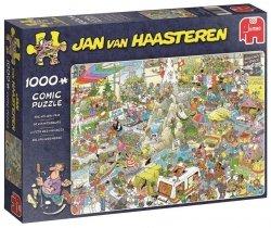 Puzzle 1000 Jumbo 19051 Jan van Haasteren - Targi Turystyczne