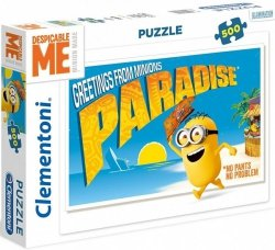 Puzzle 500 Clementoni 35030 Minionki
