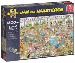Puzzle 1500 Jumbo 19077 Jan van Haasteren - Starcie Piekarzy