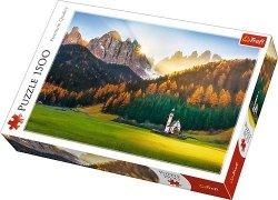 Puzzle 1500 Trefl 26134 Kościółek w Dolomitach