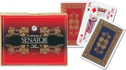 Karty do Gry Piatnik 2 Talie 2275 Senator