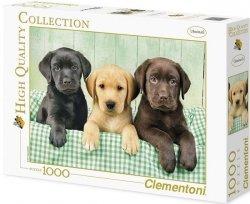 Puzzle 1000 Clementoni 39279 Psy - Trzy Labradory