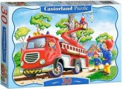 Puzzle 30 Castorland B-03358 Straż Pożarna