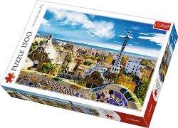 Puzzle 1500 Trefl 26147 Barcelona - Park Guell