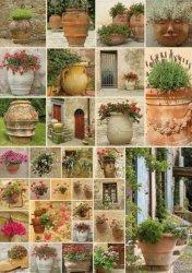 Puzzle 1000 Piatnik P-5455 Kwiaty w Donicach