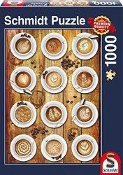 Puzzle 1000 Schmidt 58277 Cappuccino - Kolaż