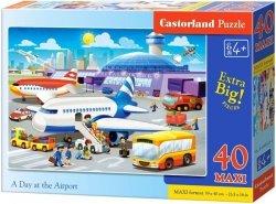 Puzzle 40 Maxi Castorland B-040223 Samolot - Lotnisko