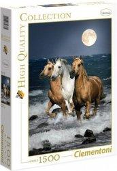 Puzzle 1500 Clementoni 31676 Trzy Konie w Blasku Księżyca