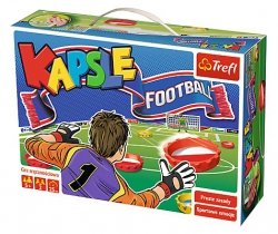 Gra Planszowa - Trefl - Kapsle Football - 01073