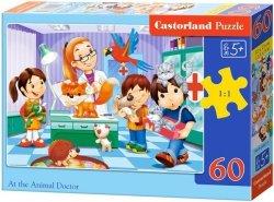 Puzzle 60 Castorland B-06847 Wizyta u Weterynarza