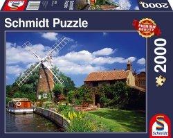 Puzzle 2000 Schmidt 58331 Wiatrak - W Drodze do Domu