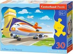 Puzzle 30 Castorland B-03587 Samolot Pasażerski