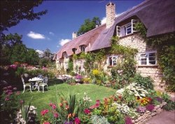 Puzzle 1500 Ravensburger 163526 Cottage - Brendon Hill