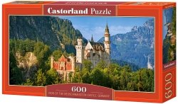 Puzzle 600 Castorland B-060221 View of the Neuschwanstein Castle - Germany