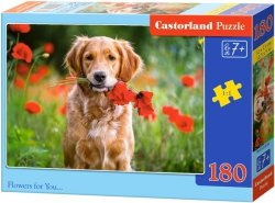 Puzzle 180 Castorland B-018284 Pies w Makach