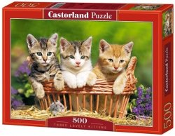Puzzle 500 Castorland B-52561 Three Lovely Kittens