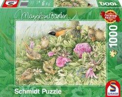 Puzzle 1000 Schmidt 59571 Marjolein Bastin - Ptasia Uczta