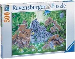 Puzzle 500 Ravensburger 142613 Dzieci Zwierząt Leśnych