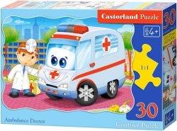 Puzzle 30 Castorland B-03471 Karetka Pogotowia - Lekarz
