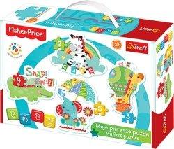 Puzzle Baby Classic Trefl T-36058 Tęczowy Las