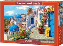 Puzzle 2000 Castorland C-200603 Santorini