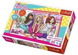 Puzzle 60 Trefl 17295 Barbie i Przyjaciółki