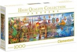 Puzzle 1000 Clementoni 39424 Fantastyczna Panorama