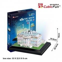 Puzzle 3D CubicFun 56 Biały Dom - L504h