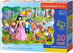 Puzzle 20 Maxi Castorland C-02320 Królewna Śnieżka