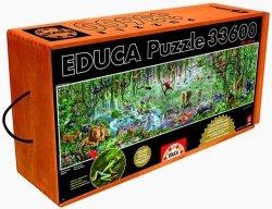 Puzzle 33600 Educa 16066 Wild Life