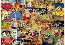 Puzzle 1000 Piatnik P-5414 Zabytkowe Zestawy Igieł