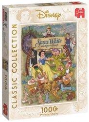 Puzzle 1000 Jumbo 19490 Disney - Królewna Śnieżka i Siedmiu Krasnoludków