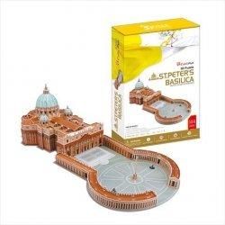 Puzzle 3D CubicFun 144 el. St Peters Basilica - Duży Zestaw - MC092h