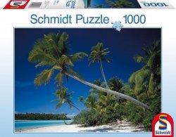 Puzzle 1000 Schmidt 58184 Palmy - Wyspy Cooka