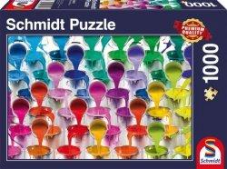 Puzzle 1000 Schmidt 58219 Kolorowy Wodospad