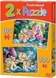 Puzzle 165, 300 - Castorland - B-021109 Syrenki 2w1