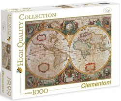 Puzzle 1000 Clementoni 31229 Mapa Antyczna