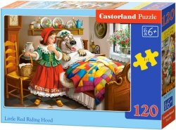 Puzzle 120 Castorland B-13227 Czerwony Kapturek