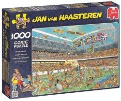 Puzzle 1000 Jumbo 17459 Szalona Piłka Nożna - Jan van Haasteren