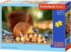 Puzzle 180 Castorland B-018277 Wiewiórka