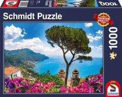 Puzzle 1000 Schmidt 58329 Widok na Wybrzeże Amalfi