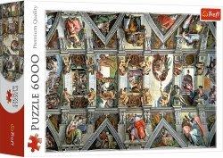 Puzzle 6000 Trefl 65000 Sklepienie Kaplicy Sykstyńskiej