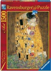 Puzzle 1500 Ravensburger 162901 Klimt - Pocałunek