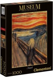 Puzzle 1000 Clementoni 39377 Museum - Munch - Krzyk