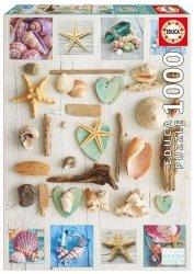 Puzzle 1000 Educa 17658 Muszelki - Kolaż