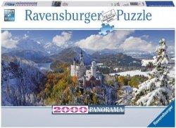 Puzzle 2000 Ravensburger 166916 Zamek Neuschwanstein