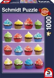 Puzzle 1000 Schmidt 58217 Pyszne Babeczki