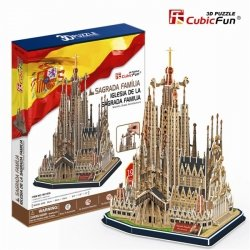 Puzzle 3D CubicFun 194 Sagrada Familia - MC153h
